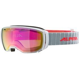 Alpina Estetica MM Goggles, white pink spherical